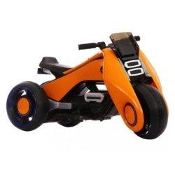 Электромотоцикл BMW Vision Next 100 (трицикл) - BQD-6288 оранжевый (широкие колеса, музыка, свет фар)